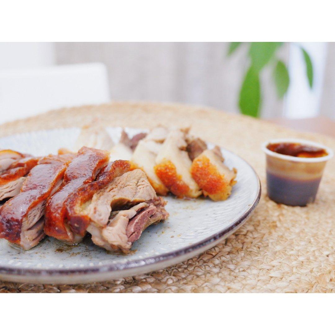 晚餐加份烧腊咯!脆皮猪+烧鸭