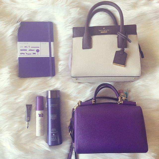 我的紫色单品们~<br /> 作为...