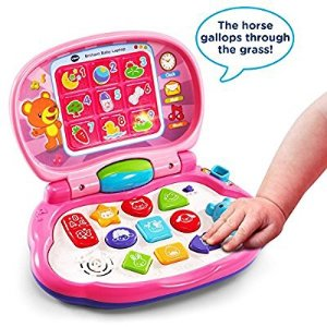 $13VTech Brilliant Baby Laptop, Pink