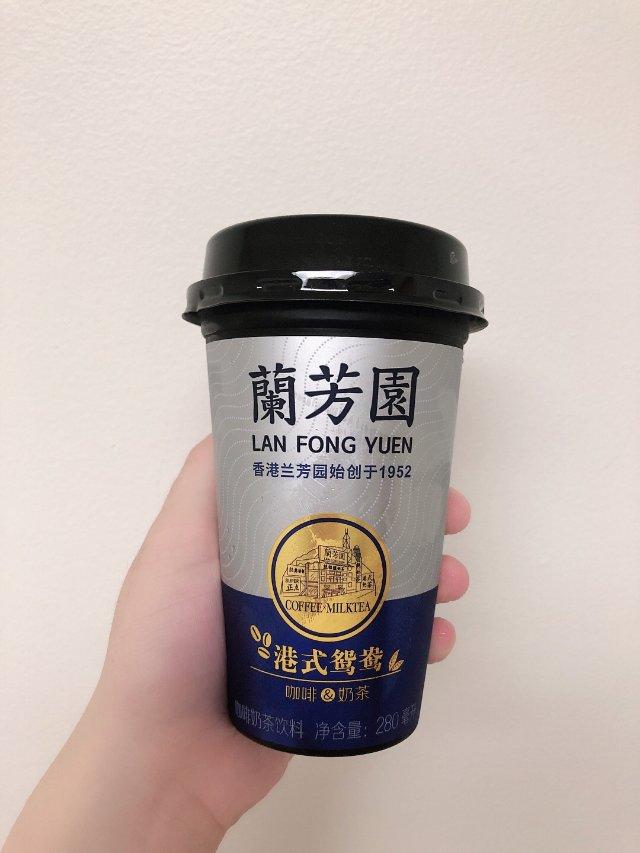 兰芳园港式鸳鸯咖啡奶茶