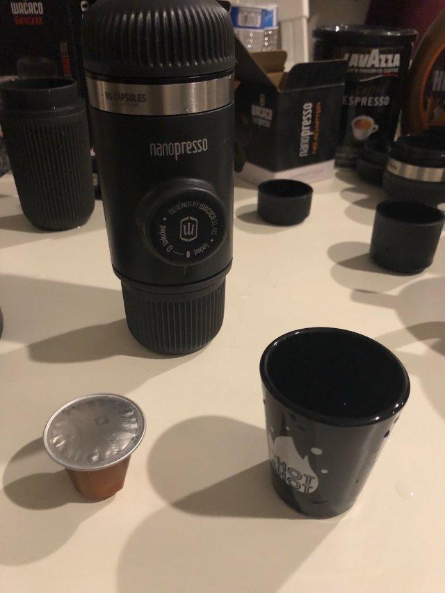 Wacaco便携式浓缩咖啡机