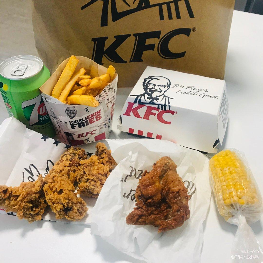 1镑就可以拥有这么多的KFC!...