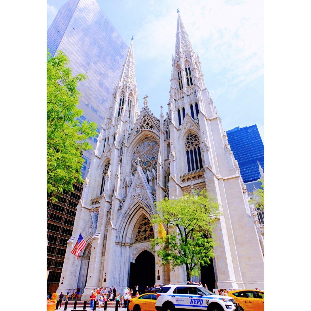 ⛪️ 圣帕特里克大教堂➕熨斗大楼