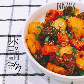 晚餐小饭桌之instant pot版土豆...