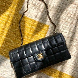Chanel黑金冰格|第一个中古包包...