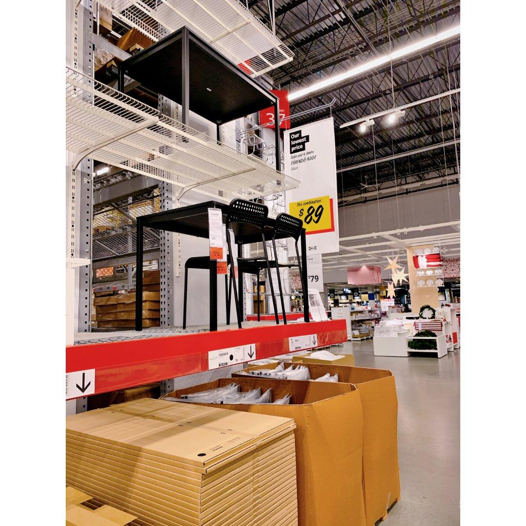 IKEA好物推荐|89一套的餐桌椅