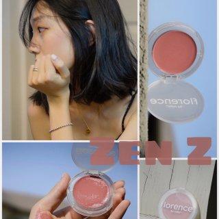 终于找到了今年最糯的腮红膏🍑 Zen Z