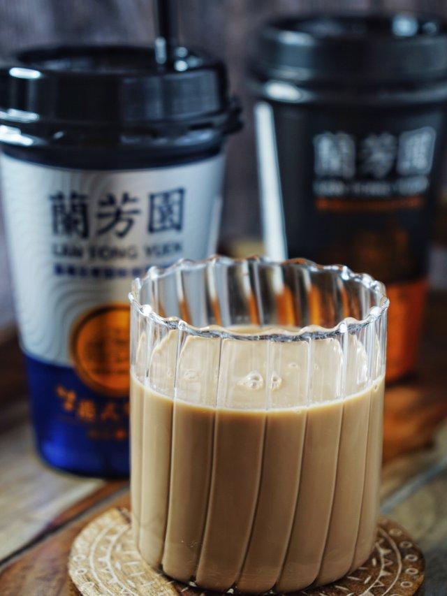 兰芳园的港式鸳鸯奶茶