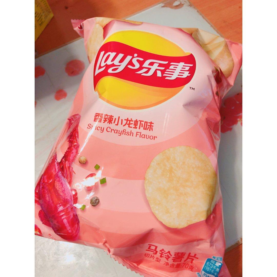 齊來試試香辣小龍蝦薯片!!