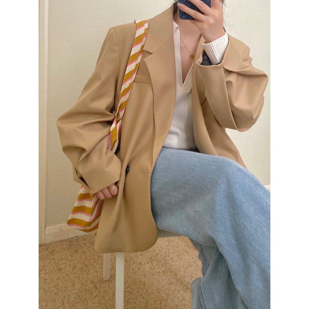 最近在穿的宝藏西装们 Zara复古西装