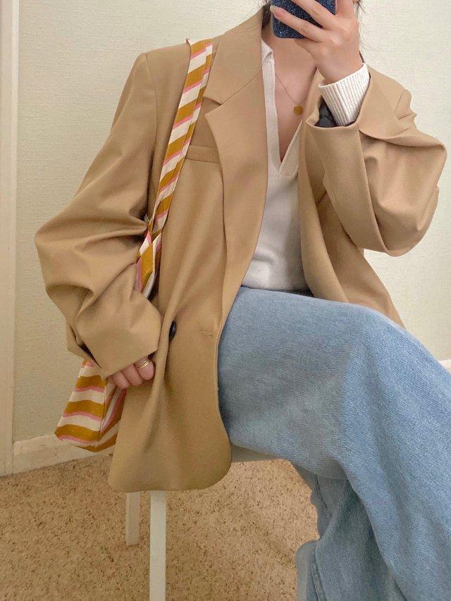 最近在穿的宝藏西装们|Zara复古西装