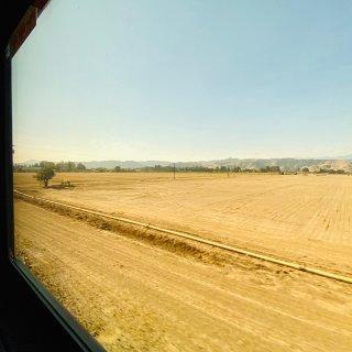 第一次坐Amtrak之·舒适惬意的火车初...