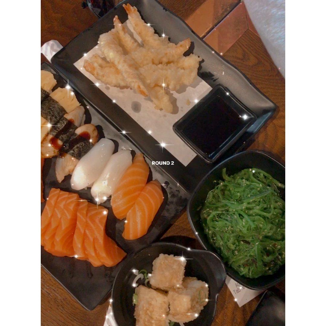 英國 高檔日式料理吃到飽🍣🍱🥟...