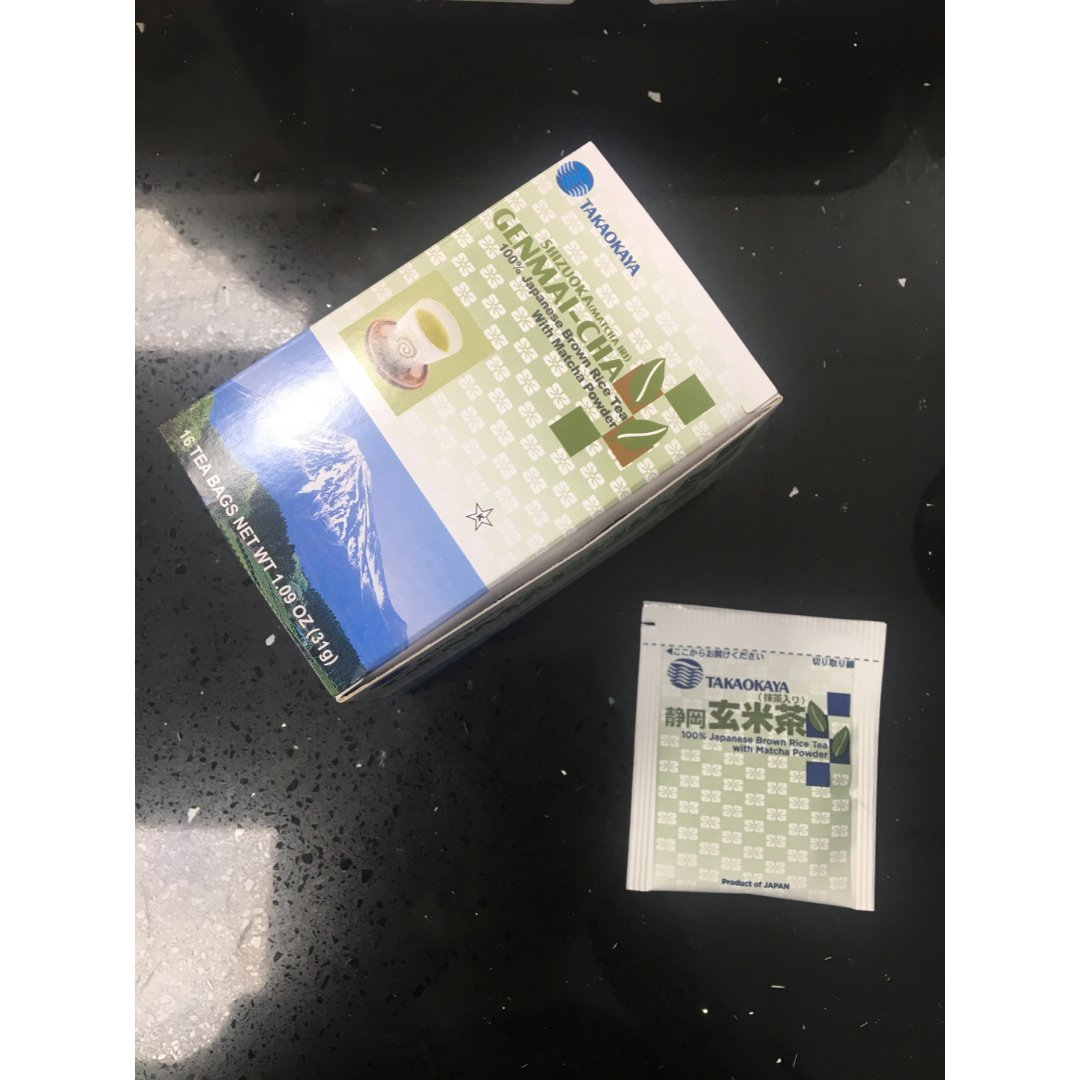 ❤️推荐这个玄米绿茶!🍵...