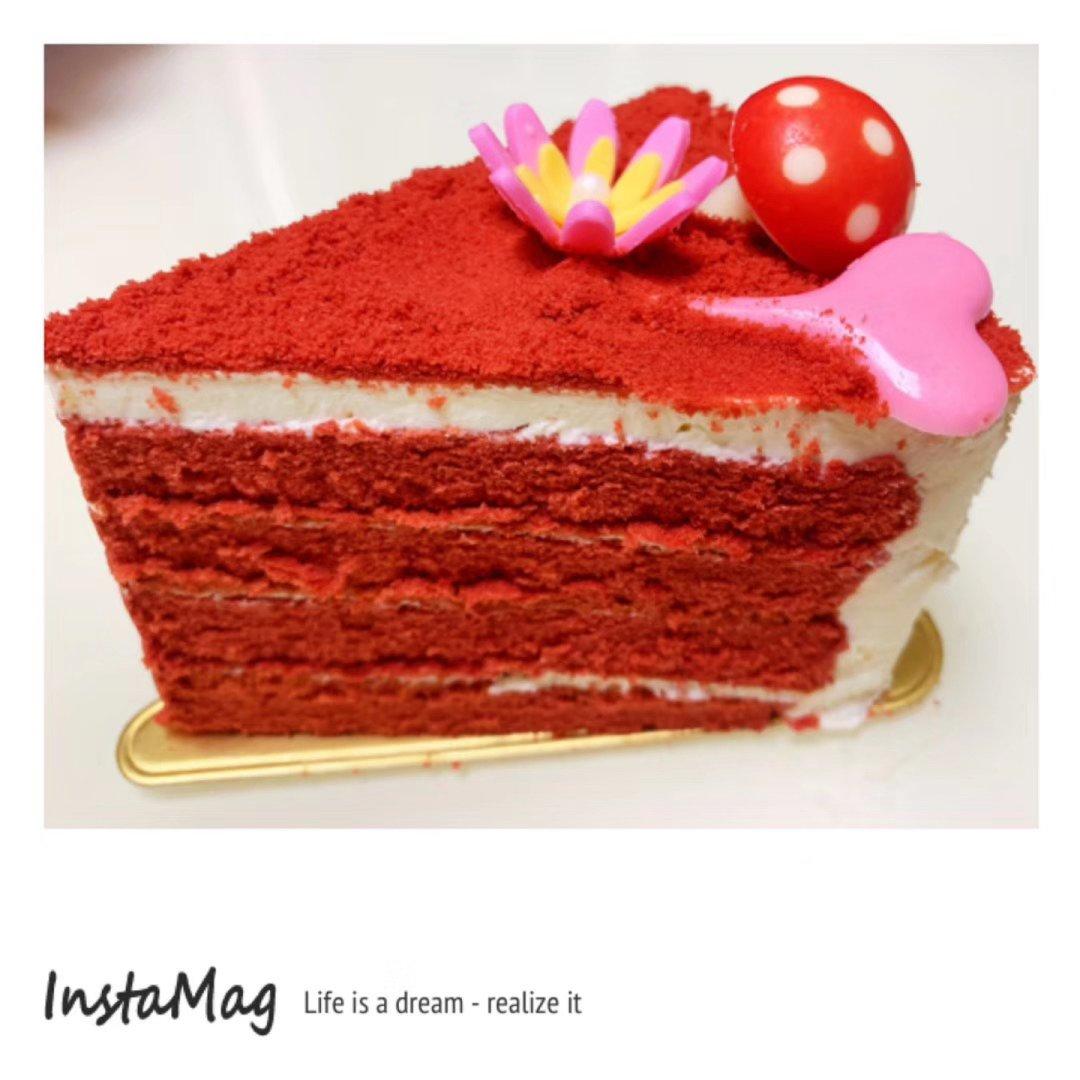 今日限量版|红色爱心蛋糕