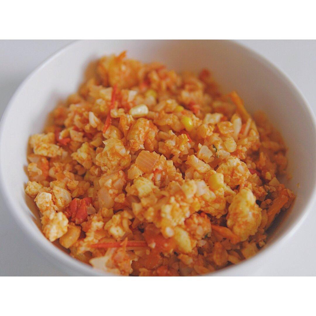 美食小摊  低脂番茄鸡蛋无米烩饭🍅