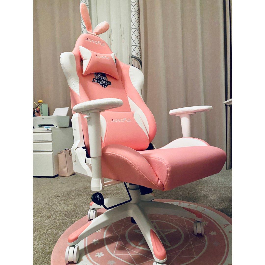 少女粉电竞椅你值得拥有!