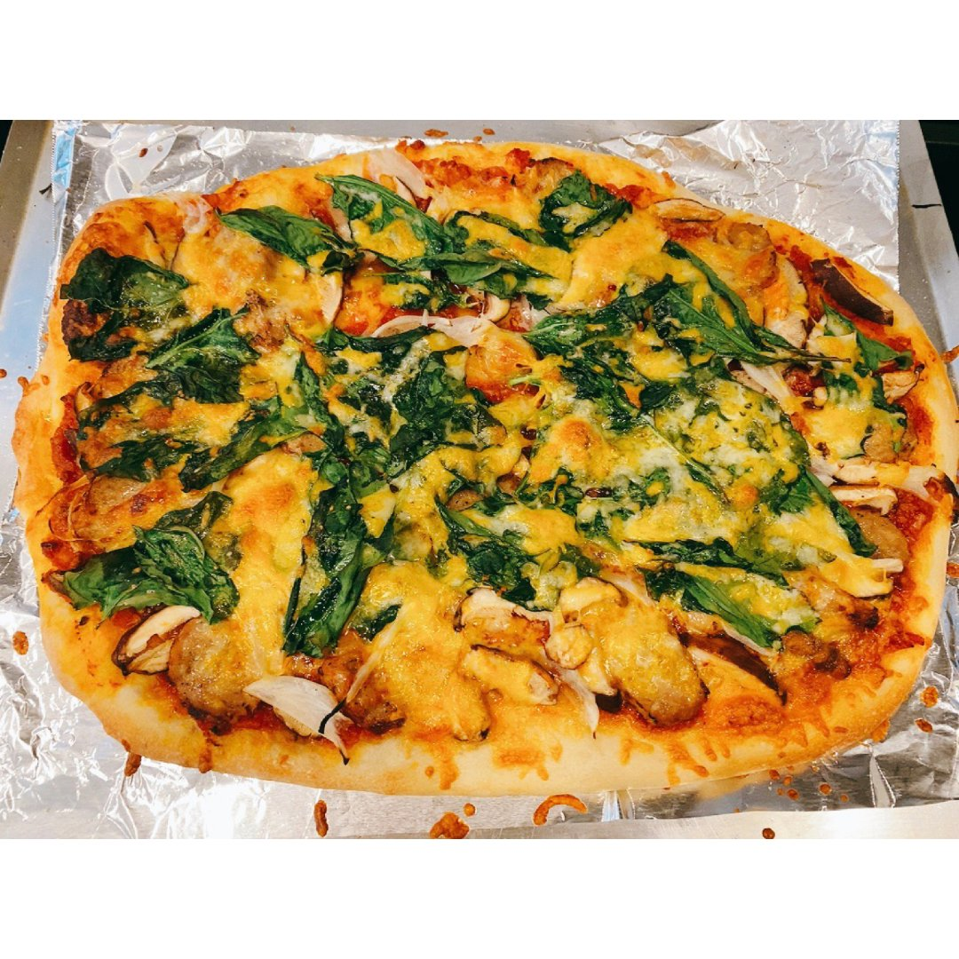 教你做好吃的pizza,料足美味