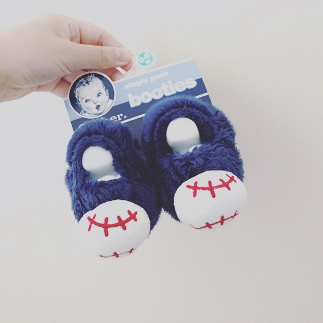 好可爱的宝宝鞋~ 已经被萌翻~ 蓝...
