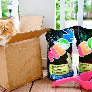 云铲屎官的猫砂测评  Neon Litter霓虹水晶猫砂