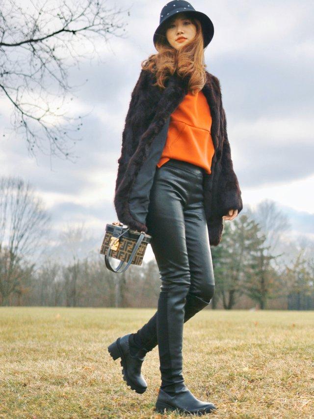 新年穿搭|骑士靴➕Chic皮草