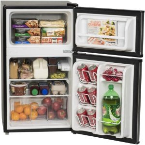 $129Arctic King 3.2 cu ft 2-Door Compact Refrigerator