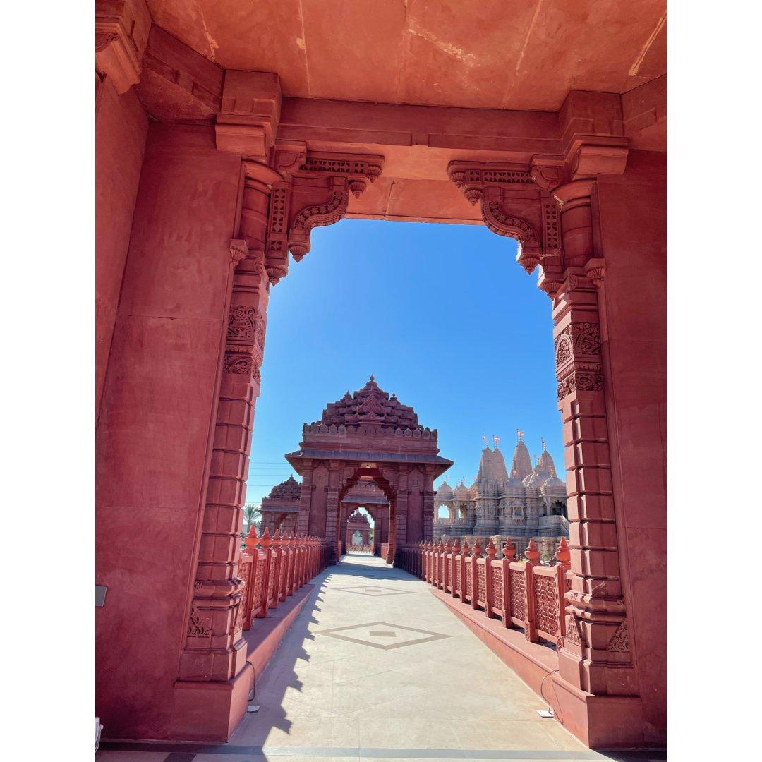 打卡Chino Hills的印度神庙...
