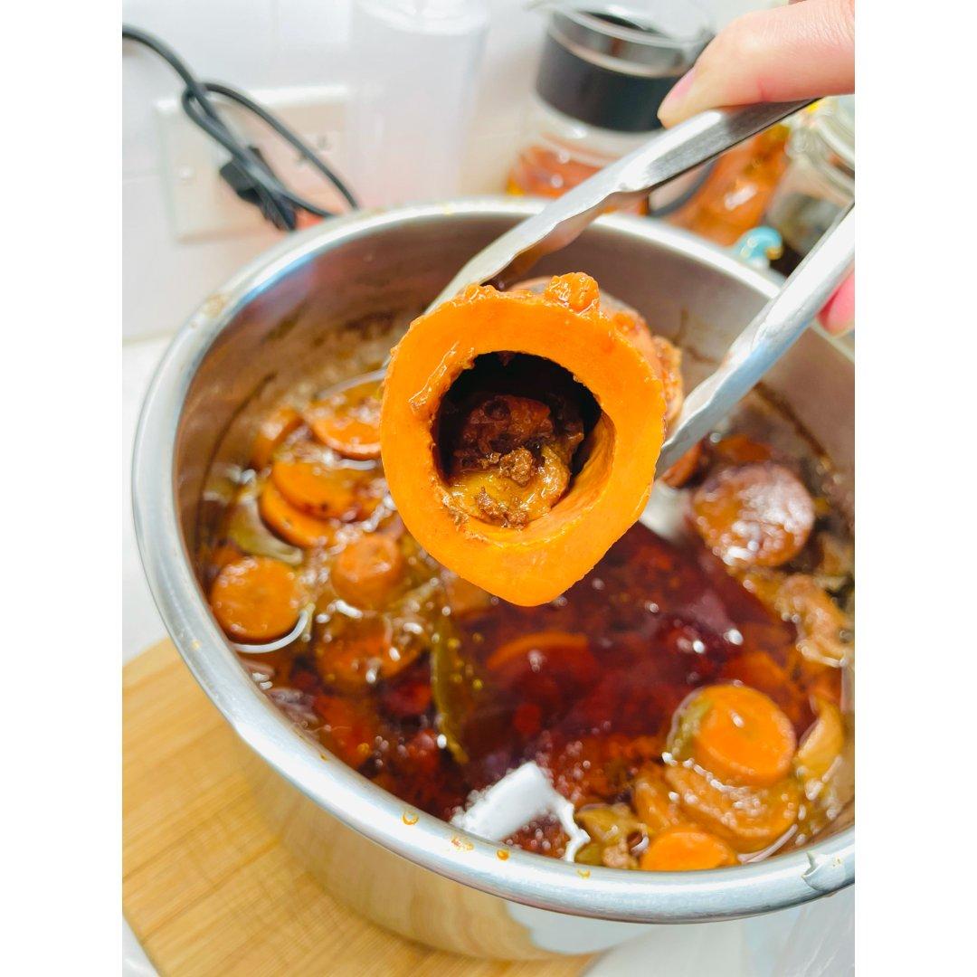 年夜饭备菜中 红酒牛肉汁 Red ...
