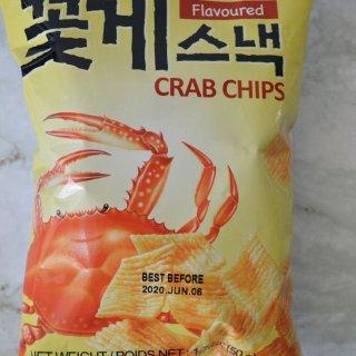 Crab Chips,零食不能停