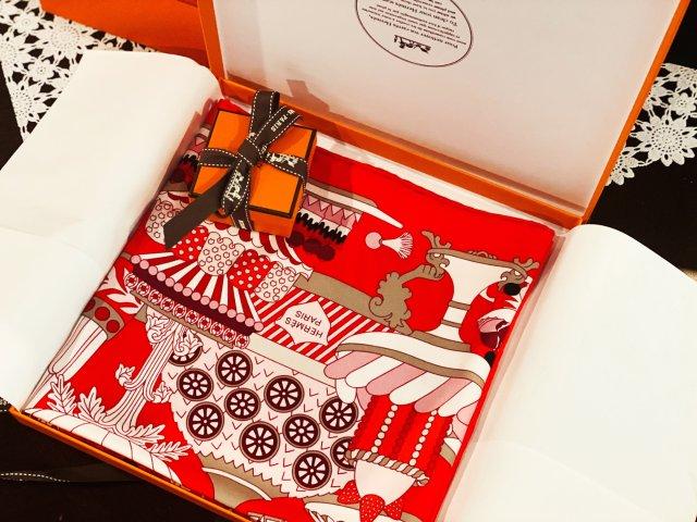 新款开箱|红红火火的爱马仕丝巾火热晒单🔥
