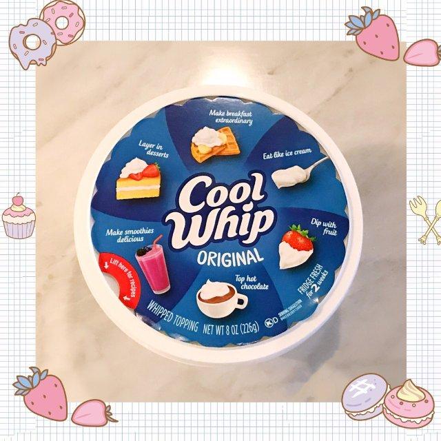 cool whip 免打发奶油,美...