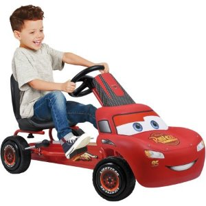 $59Disney Lightning McQueen Pedal Go Kart