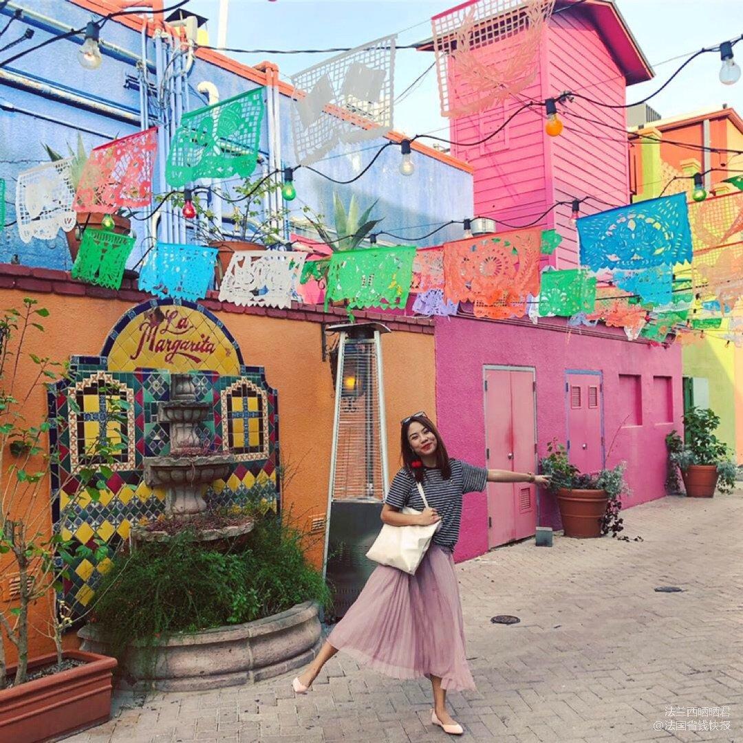 身在德州却以为去了墨西哥的小镇市集
