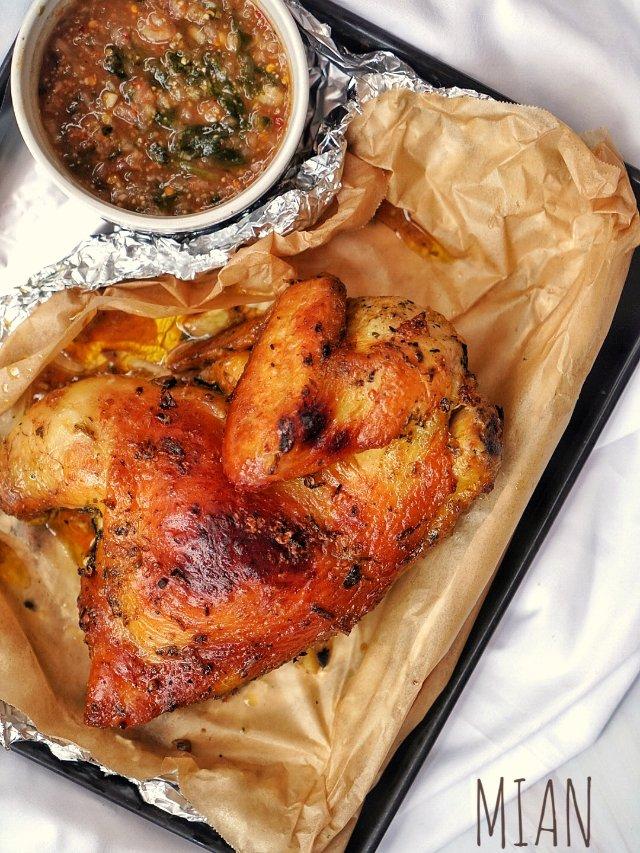 掌握烤出超嫩超多汁烤鸡的秘诀‼️