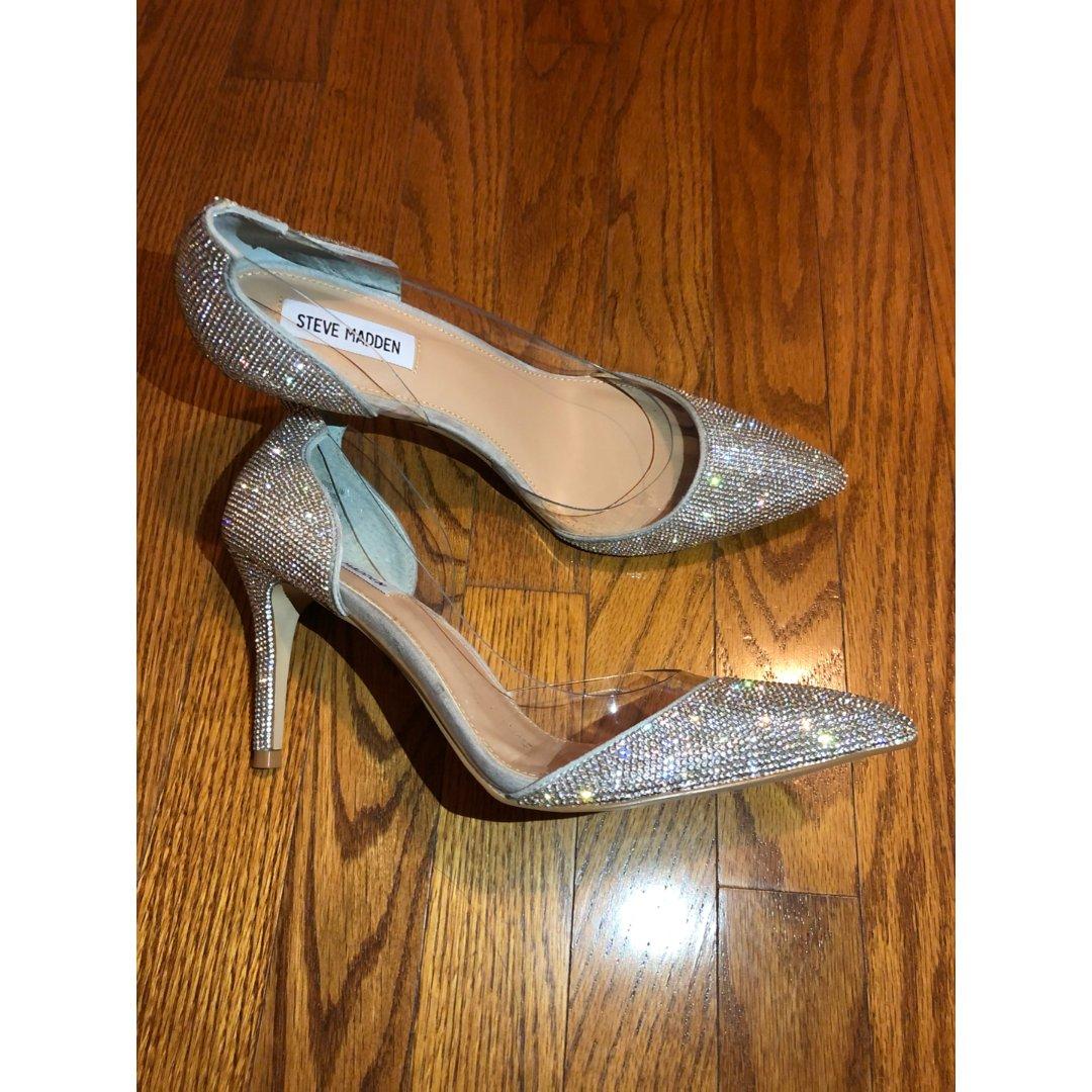 这双水晶鞋真的要爱死了