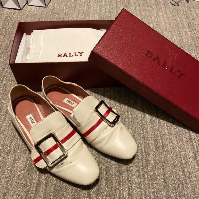 小白鞋|Bally方扣穆勒鞋♥️