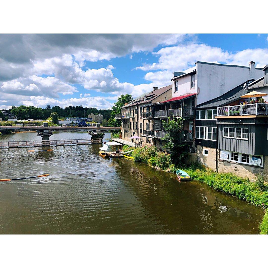"Elora 水上小镇 安省""周庄"""