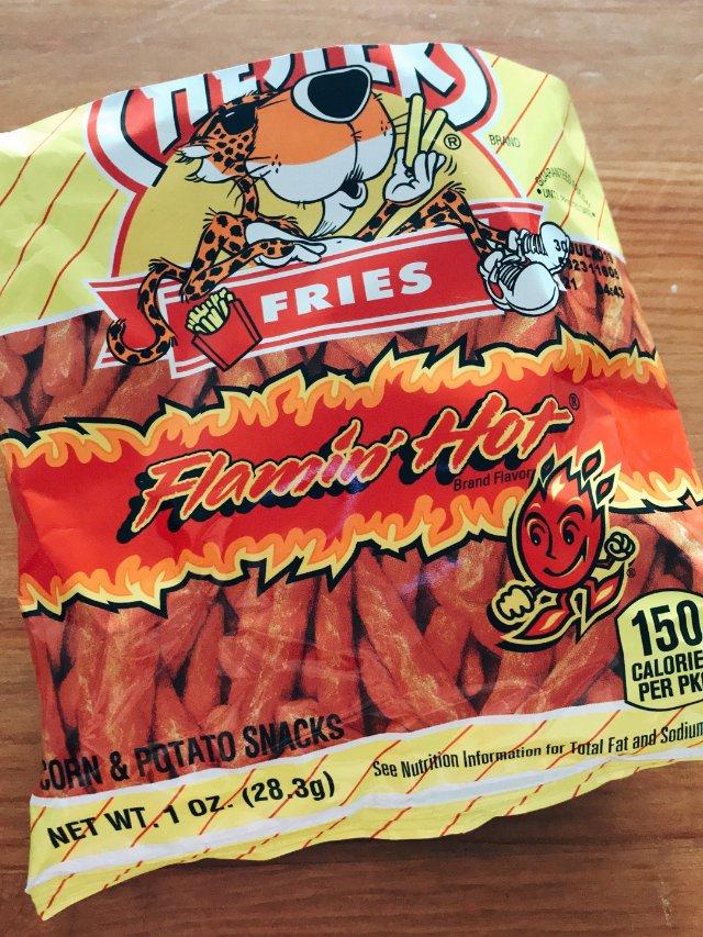 非常非常辣的一款膨化食品,但是零食...