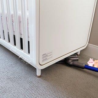 婴儿床选择|稳固美观之外好打扫也很重要😝...