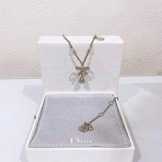 【黑五狂欢倒计时】Dior蝴蝶结锁骨链...