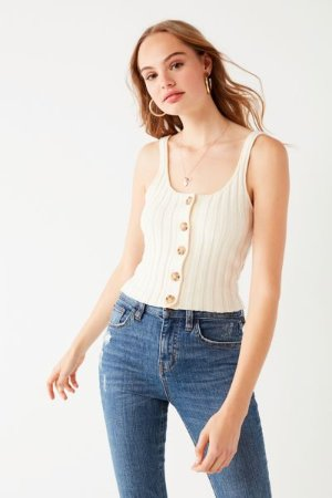 UO Tyra Sweater Tank Top | Urban Outfitters