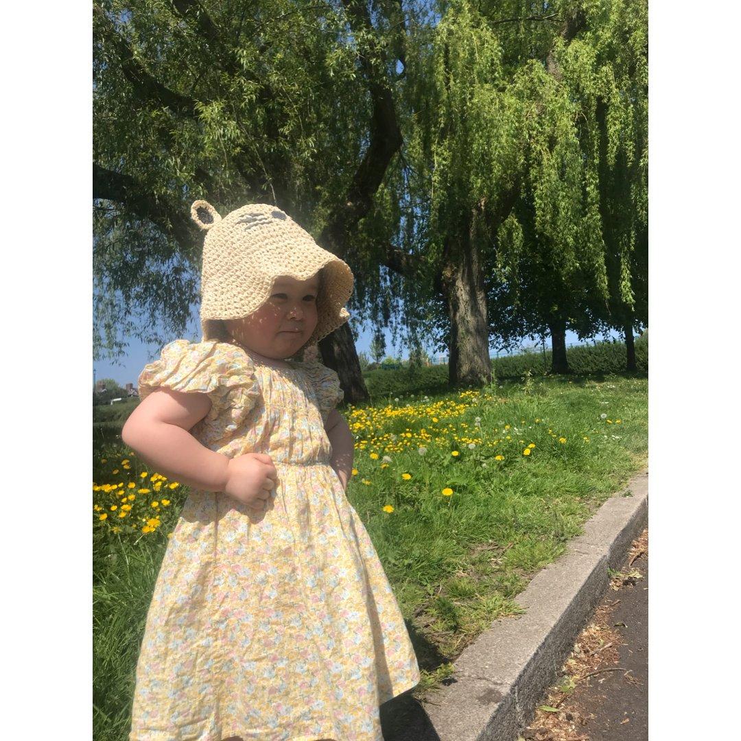 【夏日穿搭】宝宝的淡黄长裙🌞