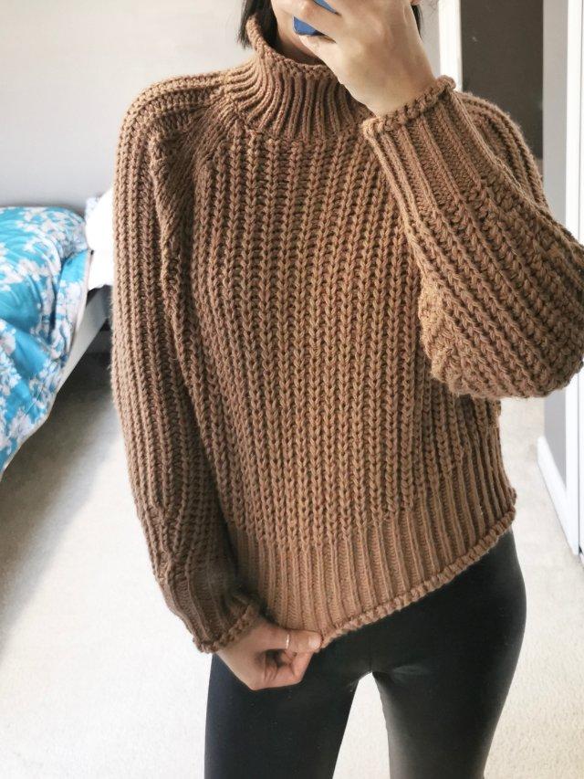 hm毛衣又开挂