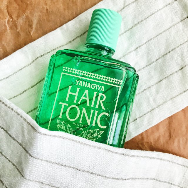不做秃秃女孩 柳屋生发液