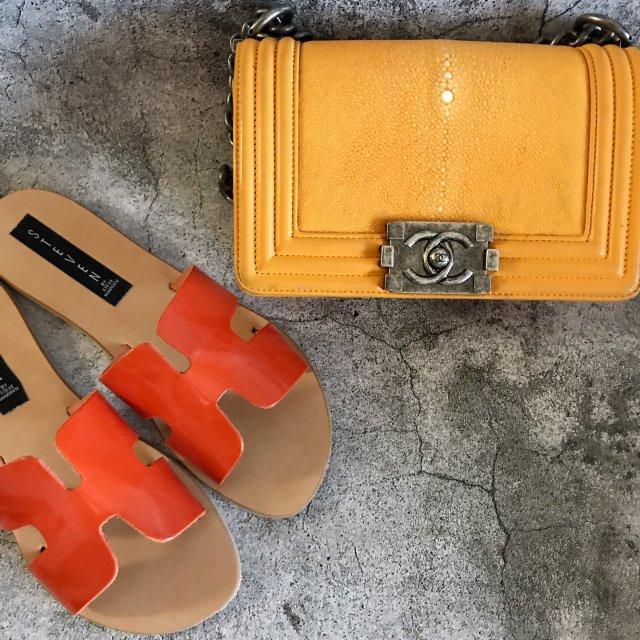 包包鞋子一个色-明亮色
