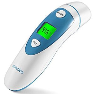 ANKOVO Digital Medical Forehead and Ear Thermometer