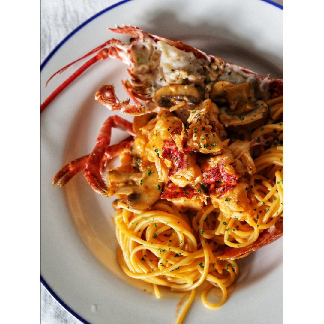 #七夕餐 #颜值与逼格具备的自制龙虾意面
