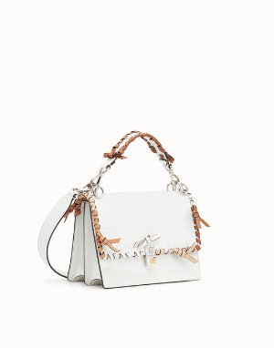 White leather bag - KAN I | Fendi
