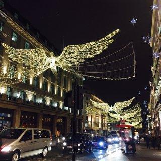 发个库存,伦敦圣诞...