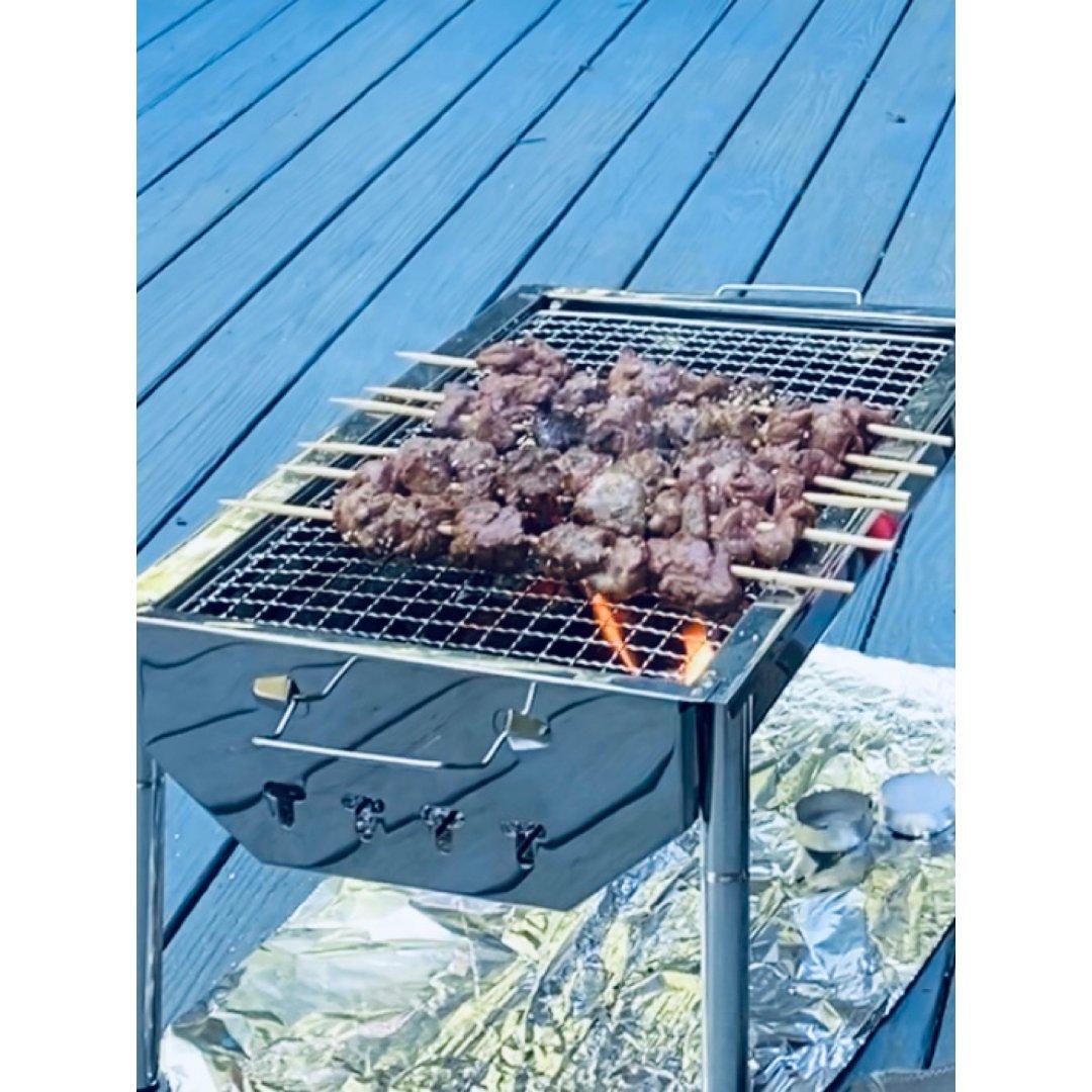碳烤羊肉串